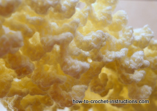 fine crochet curls