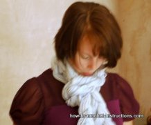 extreme crochet scarf