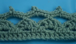 Crochet Shell Edging - How to crochet. Instructions