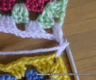 how to join granny squares for beginners