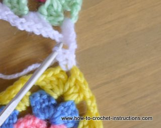 Vashti's Crochet Pattern Companion: Try a Linked Stitch to