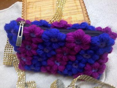 Mollie flowers purse