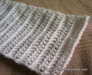 Easy baby Scarf
