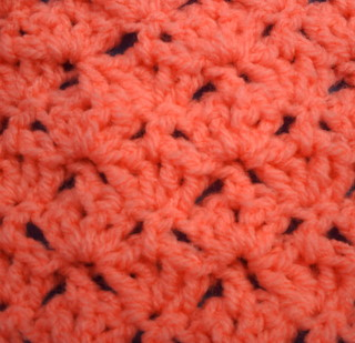 crochet open shell stitch